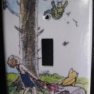 CLASSIC POOH LIGHT SWITCH COVER *CUTE* Winnie the Pooh and Tigger