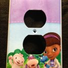 DOC MCSTUFFINS OUTLET COVER Lambie Hallie Stuffy outlet plate cover Cute