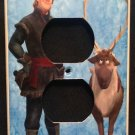 Disney FROZEN OUTLET Cover KRISTOFF & SVEN  Outlet plate Disney Frozen decor