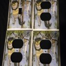WHERE the WILD THINGS ARE LIGHT SWITCH & OUTLET COVERS single switch 3 outlets