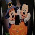 Disney MINNIE & MICKEY Halloween Single LIGHT SWITCH COVER Mickey Mouse