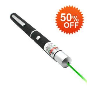 200MW Green Laser Pointer Pen - Burning Laser - Powerful Laser Free Shipping