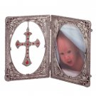 2-panel Cross and Frame (Item # 35272)