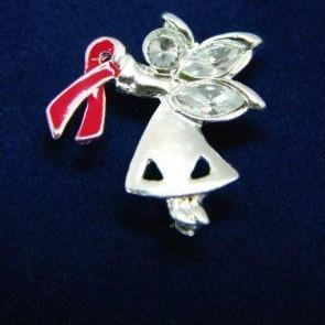 Angel By My Side Pin