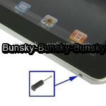 Earphone slot Anti-dust Stopper for iPad