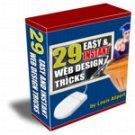 (V1) 29 Easy & Instant Web Design Tricks