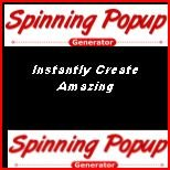 Spinning Popups