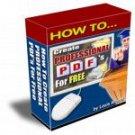 Create Professional PDF's