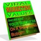 Viral Marketing Values