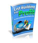 List Building For Profit