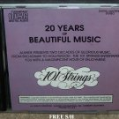 "101 Strings ""20 Years of Beautiful Music"" (CD, 1990, Alshire) Easy Listening"