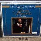 Luciano Provarotti: La Traviata, A Night at the Opera, VOL. 1 & 2 ( 2 CDs) Classical