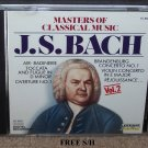 J. S. Bach Masters of Classical Music (CD, 1990, Laserlight) Classical