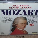Mozart Masters of Classical Music (CD, 1990, Laserlight) Classical