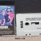Alabama The Closer You Get (Cassette, 1983, RCA)  Country