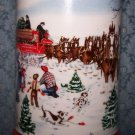 Budweiser 1991 The Season's Best, Beer Mug, Made By Ceramarte of Brazil