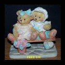 "CHERISHED TEDDIES 1992: Tracie & Nicole - ""Side By Side With Friebds""  911372"