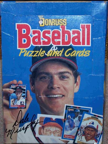 1988 Donruss Baseball Puzzle & Cards,  36 Packs, 3 Puzzle Pieces &  15 Cards In Each Pack