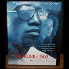 Murder at 1600 (DVD, R, WS 1997) Wesley Snipes, Diane Lane,  Drama Like New