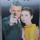 Charade (VHS, NR, 1963) Cary Grant, Audrey Hepburn, Vintage Thriller Like New