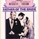 Father Of The Bride (VHS, NR, 1950) Spencer Tracy, Elizabeth Taylor, Vintage Comedy