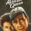 The African Queen (VHS, NR, 1951) Katharine Hepburn Humphrey Bogart,- Vintage Drama Like New