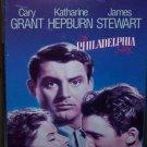 The Philadelphia Story (VHS, B/W, 1949) Cary Grant, Katharine Hepburn, Vintage Comedy