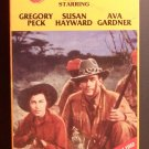 The Snows of Kilimanjaro (VHS, NR, 1952) Gregory Peck, Ava Gardner, Vintage Drama