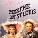 Meet Me In St Louis (VHS, NR, 1990) Judy Garland - Vintage Musicals Like New