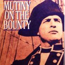 Mutiny On The Bointy (VHS, NR,  2-Tape Set, 1962) Marlon Brando, Vintage Action Like New