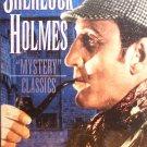 Sherlock Holmes (VHS, G, 4-Tape Set, BW) Basil Rathbone, Nigel Bruce, Vintage Drama Brand New