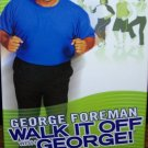 Walk It Off With George Foreman 2-Pack Box Set (VHS, NTSC)  Exercise / Fitness Like New