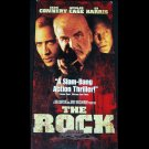 The Rock (VHS, R 1998) Sean Connery, Nicolas Cage, Action Like New
