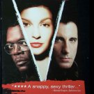 Twisted (VHS, R, 2004) Samuel L. Jackson,Ashley Judd, Thriller Like New