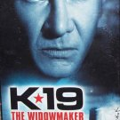 K-19: The Widowmaker (VHS, PG-13, 2002) Harrison Ford, Liam Neeson, Action / Adventure Special Offer