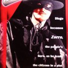 Zorro (VHS, NR, 1998) Made In Canada, Action / Adventure Special Offer