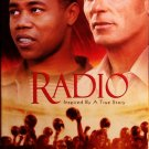 Radio (VHS, PG 2004)  Cuba Gooding, Jr, Ed Harris,  Drama Special Offer Like New