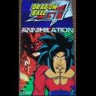 Annihilation Dragon Ball GT (VHS, G 2003) Animation!,  Sci-Fi Like New