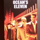 Ocean's Eleven (VHS, PG-13, 2001) George Clooney, Brad Pitt, Comedy  Like New