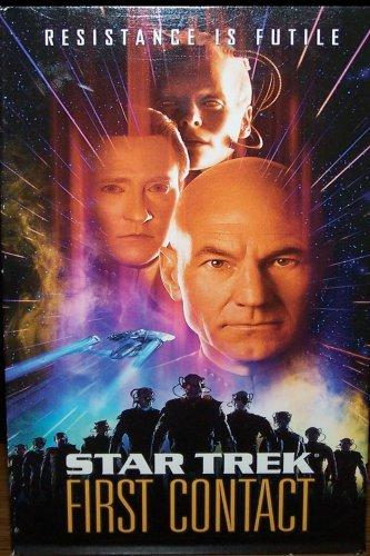 Star Trek: First Contact (VHS, PG-13, 1997) Patrick Stewart,  Sci-Fi, Fantasy Like New