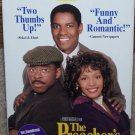 The Preacher's Wife (VHS, PG 1997) Denzel Washington, Whitney Houston, Comedy Like New