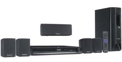 Panasonic SC-PT470 Multisystem Home Theater with Ipod Dock - PAL/NTSC 110/220 Volt International