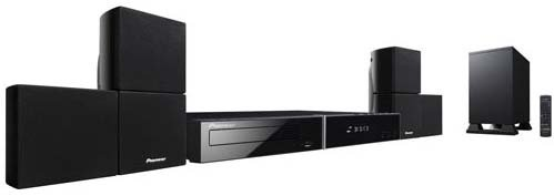 Pioneer HTZ-181 Multizone DVD Home Theatre - Plays Any DVD -110 220 Volt For Worldwide Use