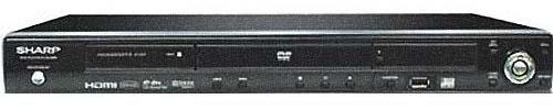 Sharp DV-SL2200 PAL NTSC 220V/110V Upscaling DVD Player