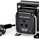 200 Watt Step Down Transformer from 220 Volt to 110 Volt 200W Max