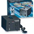 TC-1500 1500W Watts Step Up-Step Down Voltage Transformer with Three Plug Outlets
