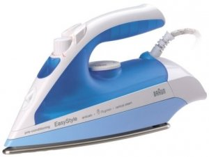 Braun SI340 Steam Iron For Use in 220 Volt Countries (WILL NOT WORK IN USA)