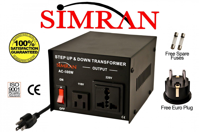 Simran Ac500w 500 Watt Step Up Down Voltage Converter