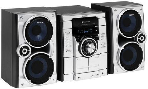 Blue Tape Sales >> Sony MHC-RG270 3-CD Double Cassette AM/FM Mini Stereo System