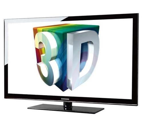 "Samsung PS43D490 43"" 3D Plasma TV PAL/NTSC 110/220V"